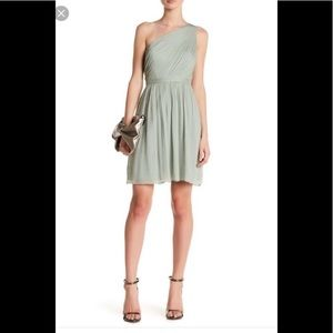 J. Crew Kylie silk chiffon bridesmaid dress